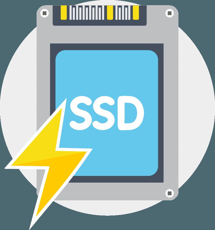 cloud hosting SSD
